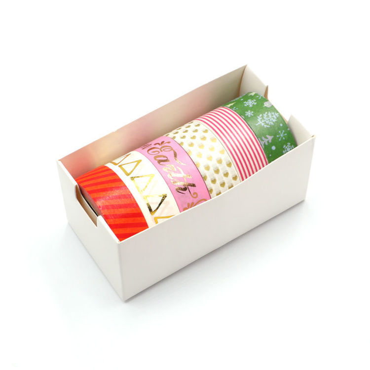 15mm x 10m 6Roll 1set Foil Washi Tape
