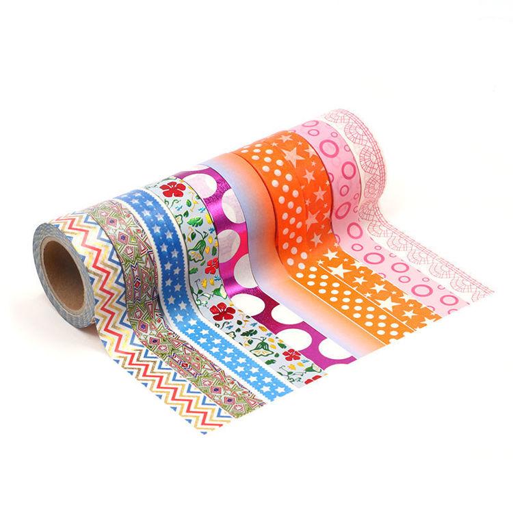 15mm x 10m 10Roll 1set Washi Tape