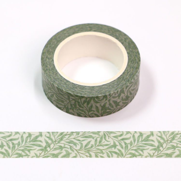 15mm x 10m CMYK Japanese Flower Rattan Washi Tape