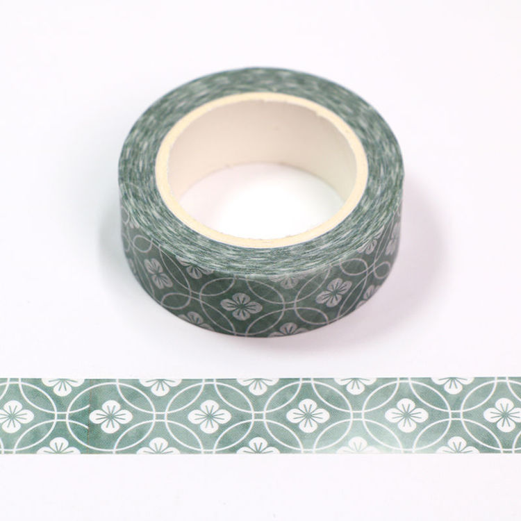 15mm x 10m CMYK Japanese Style Washi Tape