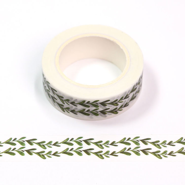 15mm x 10m CMYK Watercolor Flower Rattan Washi Tape