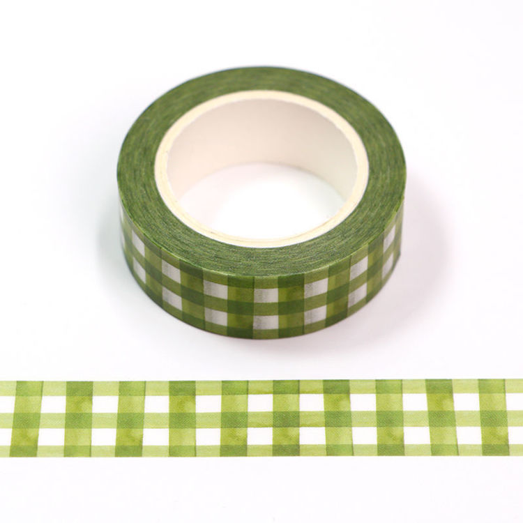 15mm x 10m CMYK Watercolor Grid Washi Tape