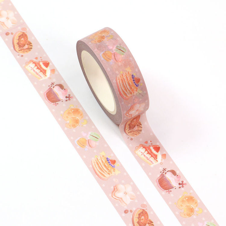 15mm x 10m CMYK Cake Washi Tape