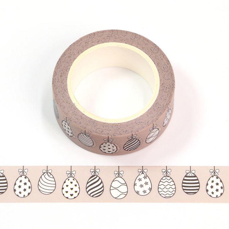15mm x 10m CMYK Easter Egg Washi Tape