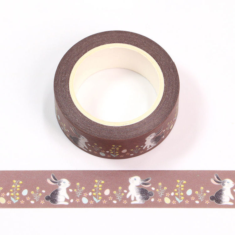 15mm x 10m CMYK Rabbit Washi Tape