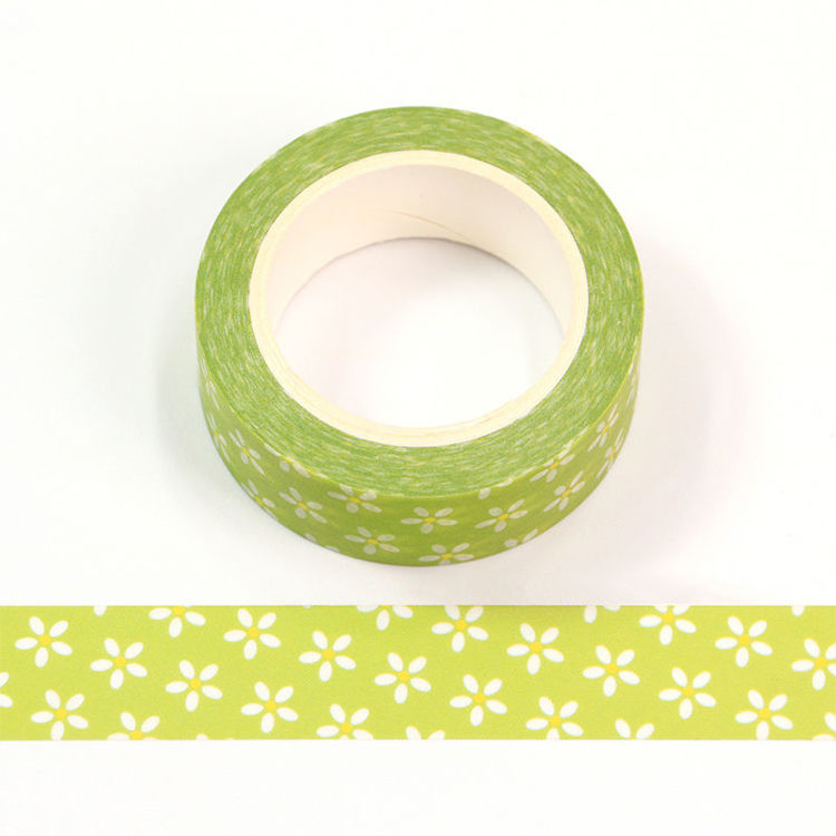 15mm x 10m CMYK Small Floral Washi Tape