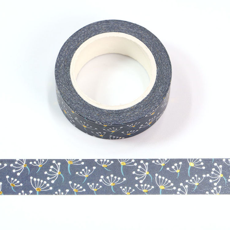 15mm x 10m CMYK Dandelion Washi Tape