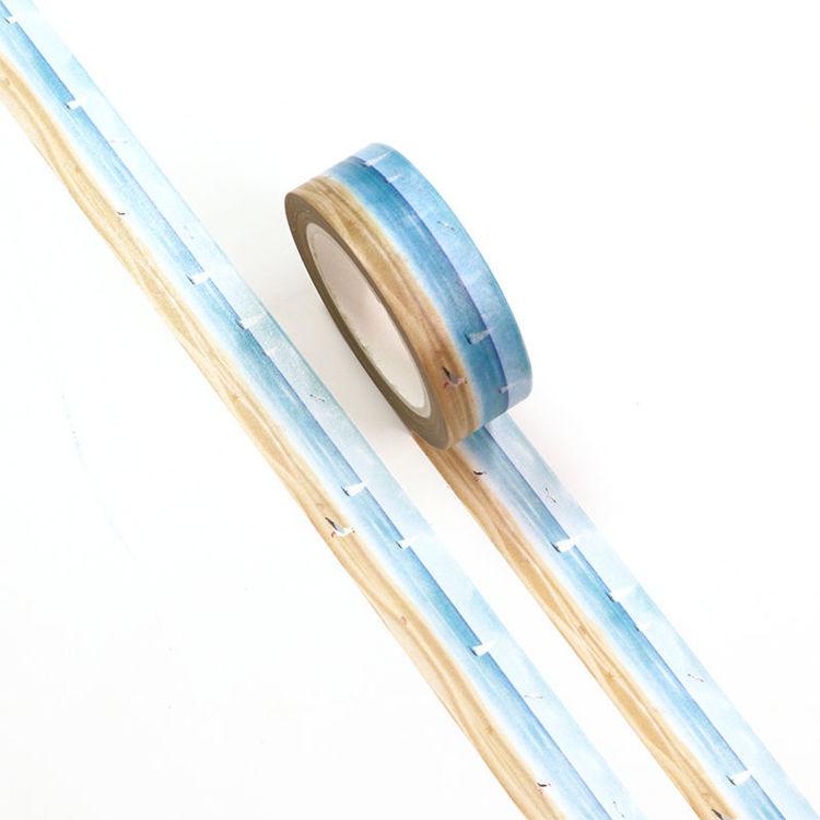 15mm x 10m CMYK Sailboats On The Sea Washi Tape