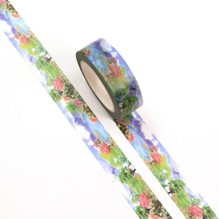15mm x 10m CMYK Watercolor Phoenix Washi Tape