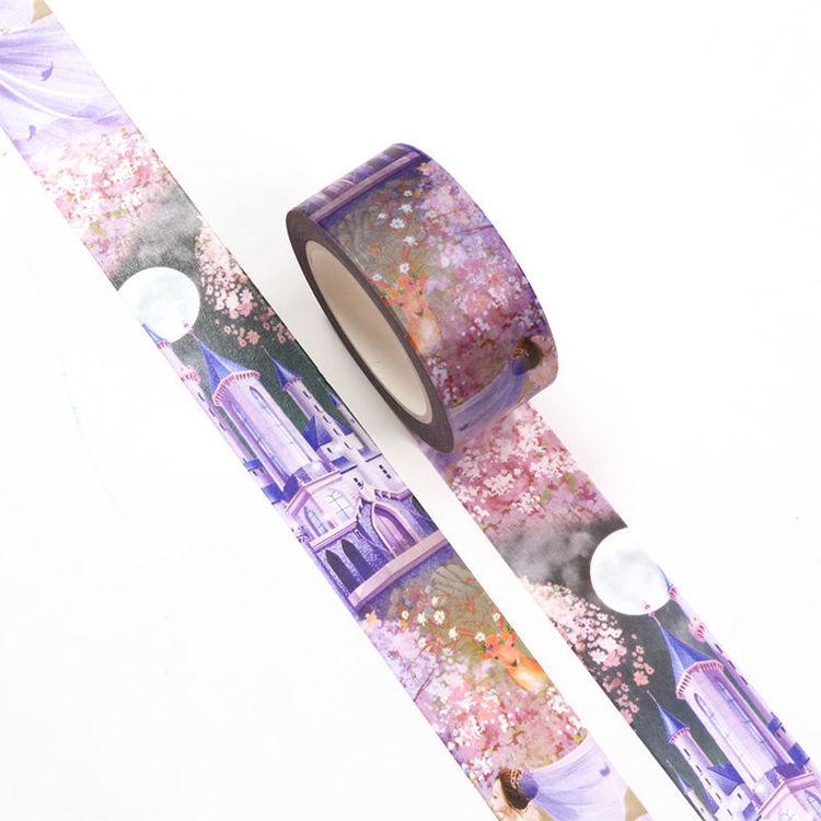 20mm x 10m CMYK Dream Wedding Washi Tape