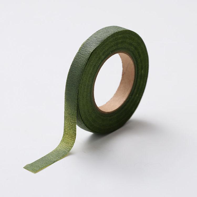 12mm x 30y Dark Green Floral Tape