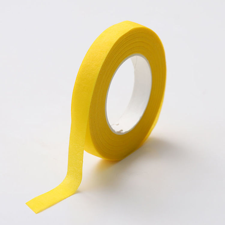 12mm x 30y Yellow Floral Tape