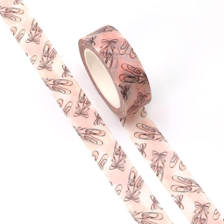 15mm x 10m CMYK Ballet Shoes Washi Tape