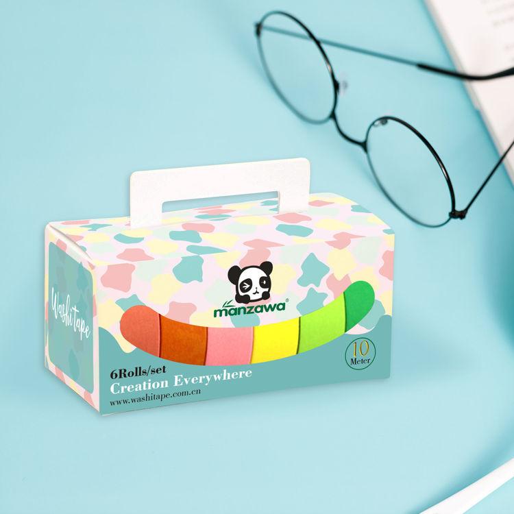 6 rolls printing package box