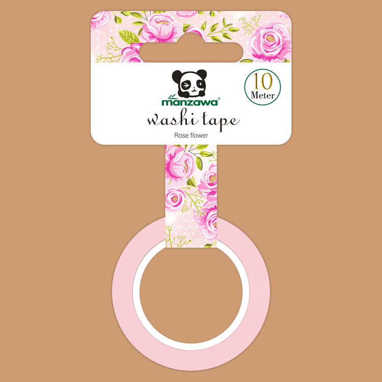 1 roll Printing washi tape Hand-held elevator package