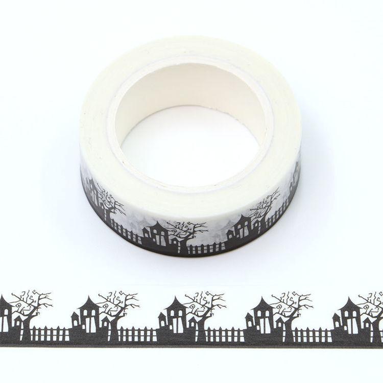 15mm x 10m CMYK witch house Washi Tape