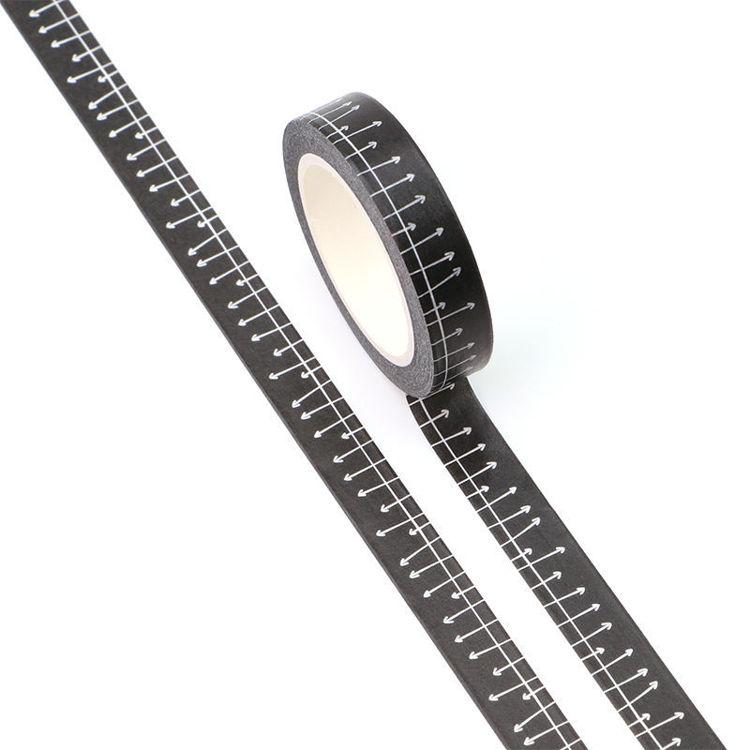 10mm x 10m CMYK fencing Washi Tape