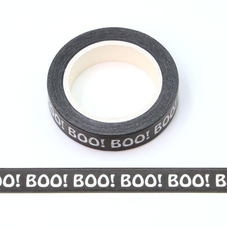 10mm x 10m CMYK BOO Washi Tape