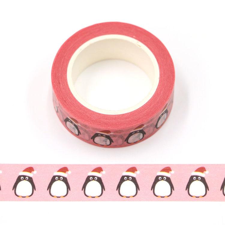 15mm x 10m CMYK Penguin Washi Tape