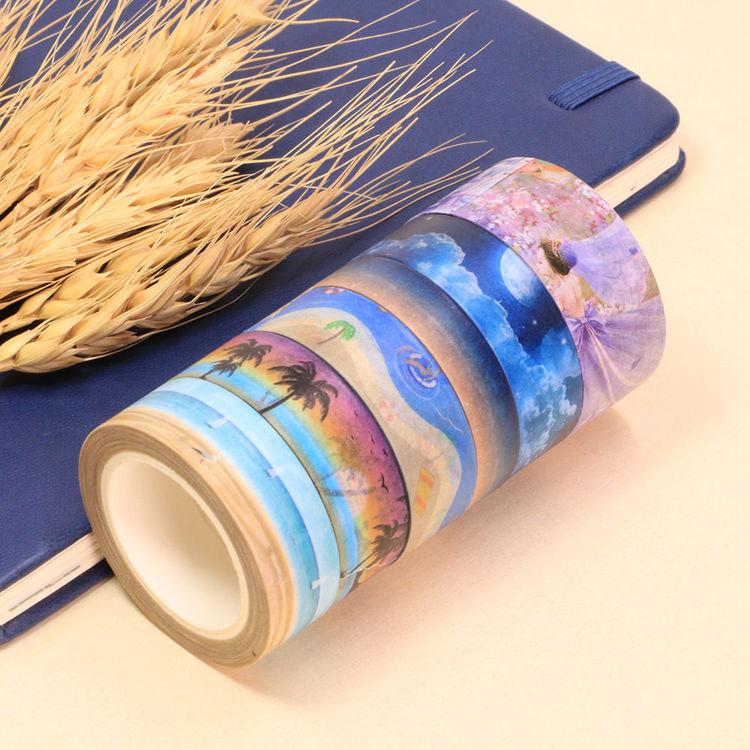 Summer Night Design Washi Tape