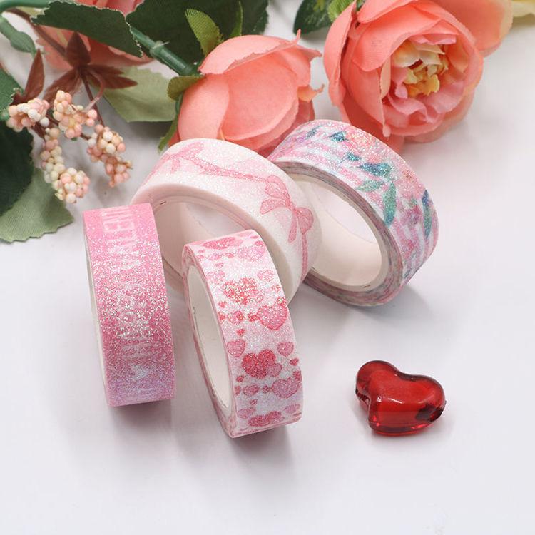 Valentine's Day Powder Washi Tape