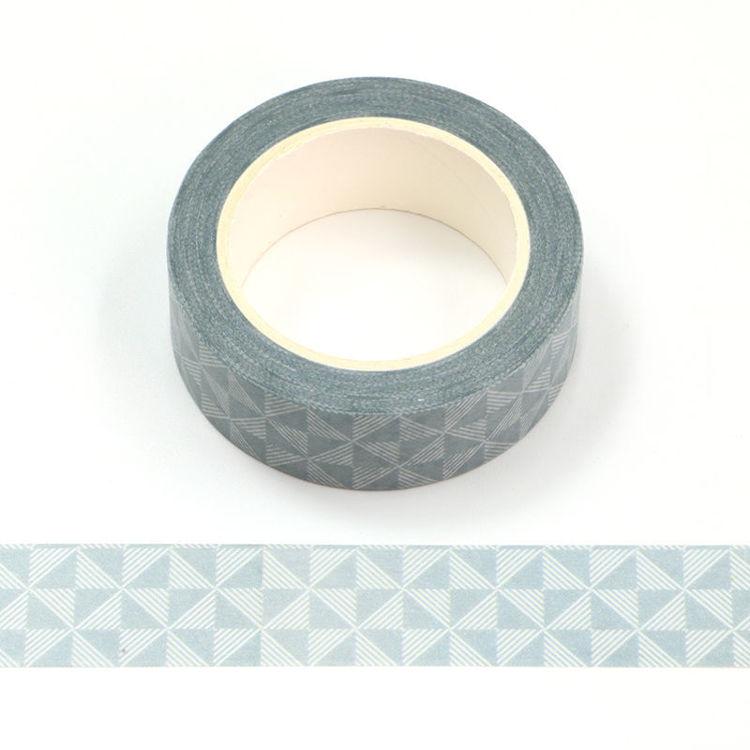 15mm x 10m Gray Color Vintage Key Pattern Washi Tape
