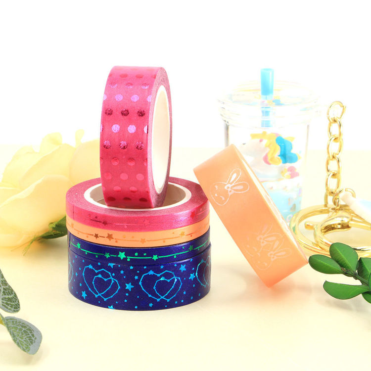 Limited Edition Gold Foil Color Washi Tape