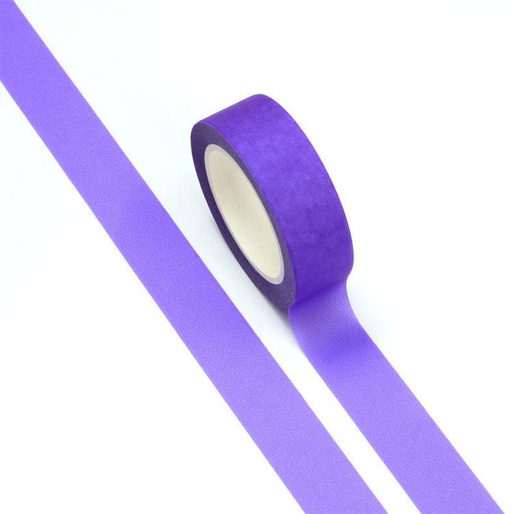 15mm x 10m Fluorescent Purple Washi Tape