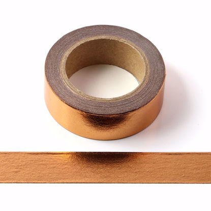 Picture of Solid Copper Gold Foil Washi Tape